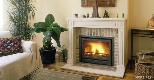 chemin e insert bodart gonay infire 743 4. Black Bedroom Furniture Sets. Home Design Ideas
