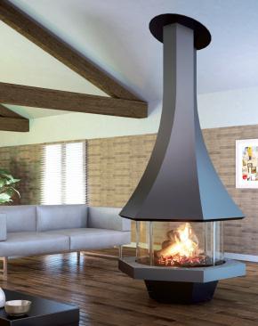 chemin e foyer ferm bordelet eolia 907 centrale. Black Bedroom Furniture Sets. Home Design Ideas