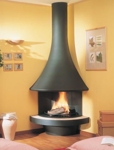 chemin e foyer ferm bordelet eva 992. Black Bedroom Furniture Sets. Home Design Ideas