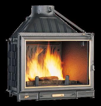 chemin e foyer ferm seguin sunflam. Black Bedroom Furniture Sets. Home Design Ideas