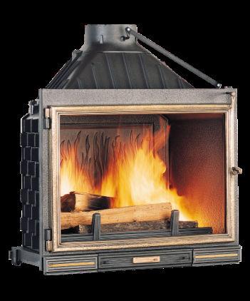 chemin e foyer ferm seguin super 8 double combustion. Black Bedroom Furniture Sets. Home Design Ideas